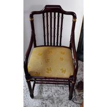 Cadeira Madeira Mogno