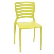 Cadeira Sofia Verde Encosto Detalhado Vazado - Tramontina