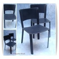 Cadeira Couro Oca- Sergio Rodrigues -antiquario Brasil.