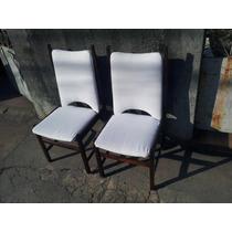 Par De Cadeiras Sergio Rodrigues Anos 50 Em Jacarandá