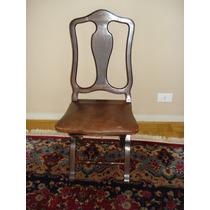 Conjunto De 6 Cadeiras Estilo D. José Decada De 1930