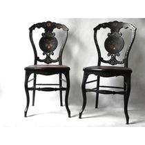 Par De Cadeiras Venezianas - Séc. 19