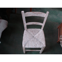 Cadeira De Palha Provençal