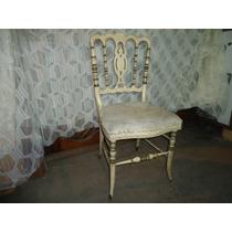 Cadeira Decorativa Antiga- Ideal Para Penteadeira