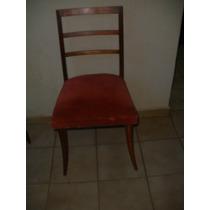 Cadeira Elegante Anos 50/60 Em Jacarandá