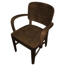 Cadeira De Escritório Antiga (cimo)