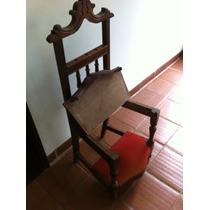 Cadeira Antiga De Rezar !