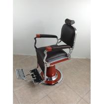 Cadeira De Barbeiro Antiga Ferrante Anos 50 Restaurada