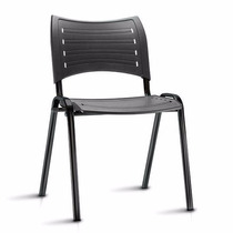 Cadeira Fixa Plastico Igreja Escola Iso Resistente