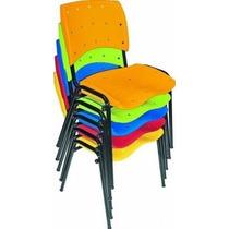 Cadeira Ergonômica - Empilhável - Colorida