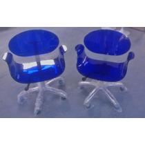 Cadeira Acrílica Tulipa P.p Office - Temos Tulipa Saarinen