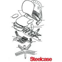 Assento E Encosto Da Cadeira Leap - Steelcase
