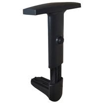 Braço Regulável Para Cadeira Fixa Ou Giratória Base Em Nylon