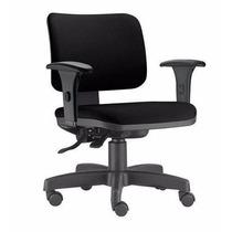 Cadeira Ergonômica Zip Assento/ Encosto Revestido Com Braços