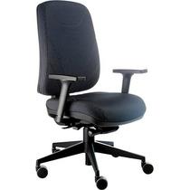 Cadeira Ergonomica Presidente, Base Rhodes Com Apoia Braços