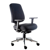 Cadeira Ergonomica Diretor, Base Rhodes Aluminio Polido