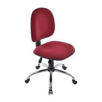 Cadeira Executiva Ergonomica Base Cromada Rhodes Back System