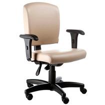 Cadeira Digitador Office Base Rhodes Back System E Braços