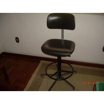 Cadeira Giratória Giroflex Para Desenhista. Em Bom Estado.