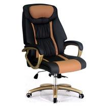 Cadeira Escritório Presidente Alta Reclinável Couro Top Seat