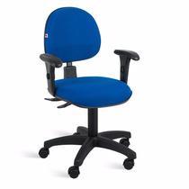 Cadeira Ergonomica Com Braços Reguláveis E Base Back System