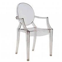 Cadeira Ghost C/b Para Sala De Espera Salão De Cabeleireiro