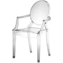 Cadeira Ghost Louis Incolor Translucido Policarbonato 2020