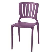 Cadeira Tramontina Sofia Encosto Vazado Lilás