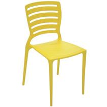 Cadeira Tramontina Sofia Encosto Vazado Amarelo