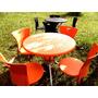 Mesas E Cadeiras Plásticas Para Jardim