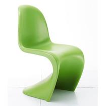 Cadeira Panton Em Abs Fosca - Verde - Diversas Cores