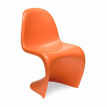 Cadeira Panton Em Abs Fosca - Laranja - Diversas Cores