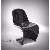 Cadeira Panton Fibra De Vidro C/ Pintura