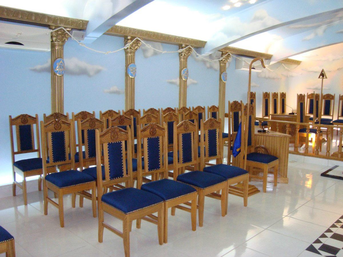 Cadeiras Para Maçônaria Em Madeira(encosto Alto) R$ 1.100 00 no  #1E3061 1200x900