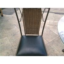 Cadeira Em Ferro Com Junco Sintetícom Pronta Entrega