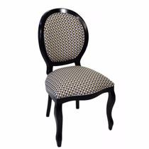 Cadeira Medalhão Lisa S/ Braço / Cadeira Decorativa