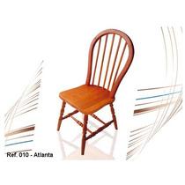 Móveis Em Madeira Maciça - Cadeira Atlanta