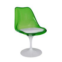 Cadeira Acrilico Tulipa Saarinen Sem Braços