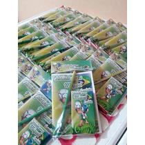 50 Kit Colorir Personalizado Revista Giz De Cera Lápis 15x10