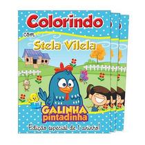 30 Revistas De Colorir Personalizadas 10 X 15 Cm