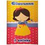 25 Kits Colorir Livrinhos Personalizado Infantil C/ Giz