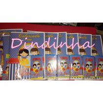 10 Revistas De Colorir Personalizadas 15x 21cm+giz De Cera