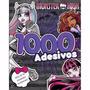 Livro Infantil Monster High Com 1000 Adesivos + Atividades