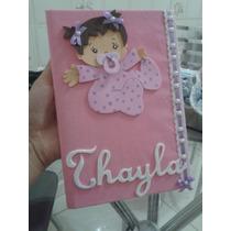 Caderno Maternidade/chá De Bebê / Aniversario/ Casamento