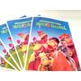 Livrinhos Personalizados Cocoricó Com Giz De Cera - 20 Kits