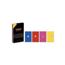 4 Cadernos Moleskine Pac-man Ed Limitada 30o Aniversário