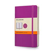 Caderno Moleskine Original Purple Pautado G Capa Flex 3647