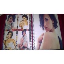Caderno Demi Lovato 1 Materia