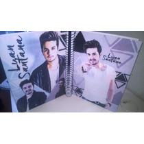 Caderno Luan Santana 10 Materias