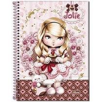 3 Cadernos Jolie Capa Dura 2009 - Loira, Morena E Japonesa